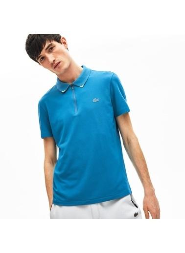 Lacoste Erkek Slim Fit Tişört PH5109.TS7 Mavi